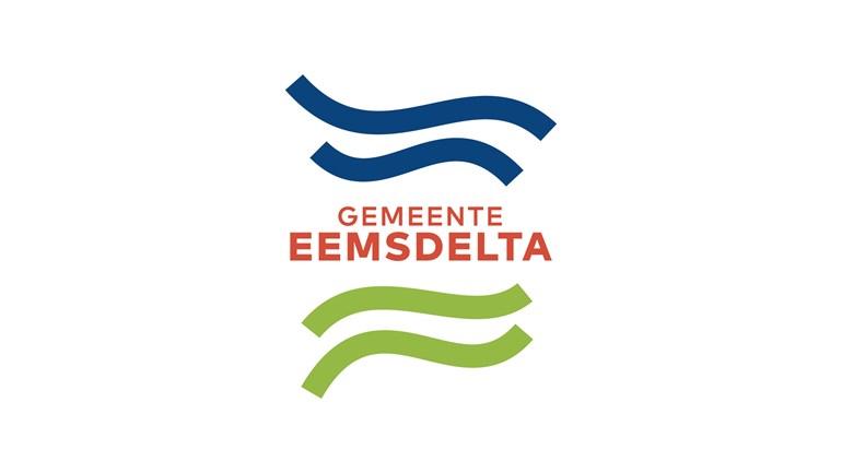 De Balken Staan Symbool Voor Het Water En Het Landschap Foto Gemeente Eemsdelta
